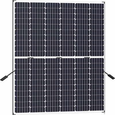 60 pcs N-type Half-Cut Monocrystalline Bi-facial  Dual Glass Series PV Module Frame-less